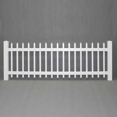Spaced Picket Fence Panel
